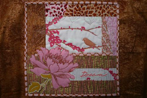 Mini Quilt for Swap - Dreams