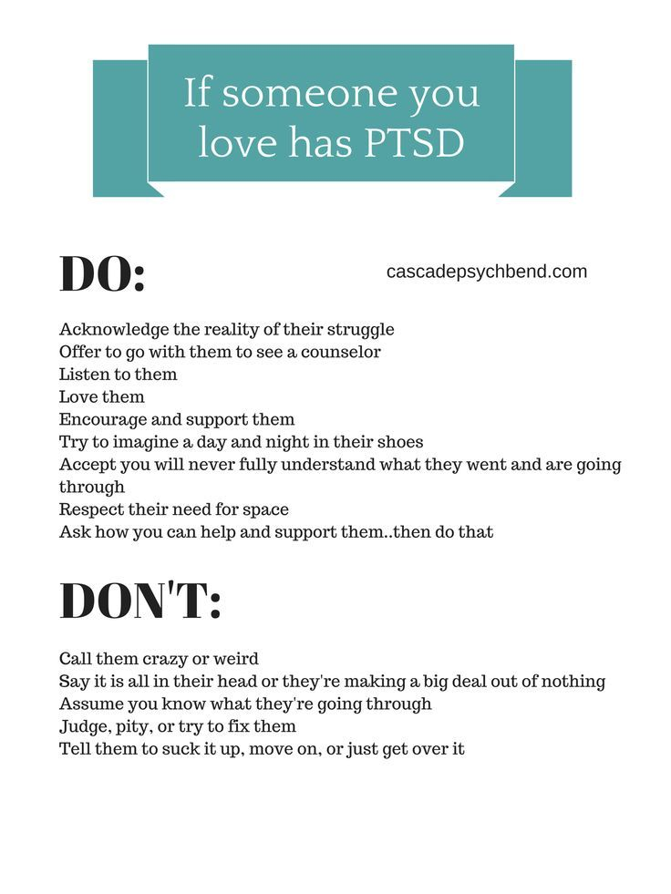 Dating someone with ptsd in Melbourne