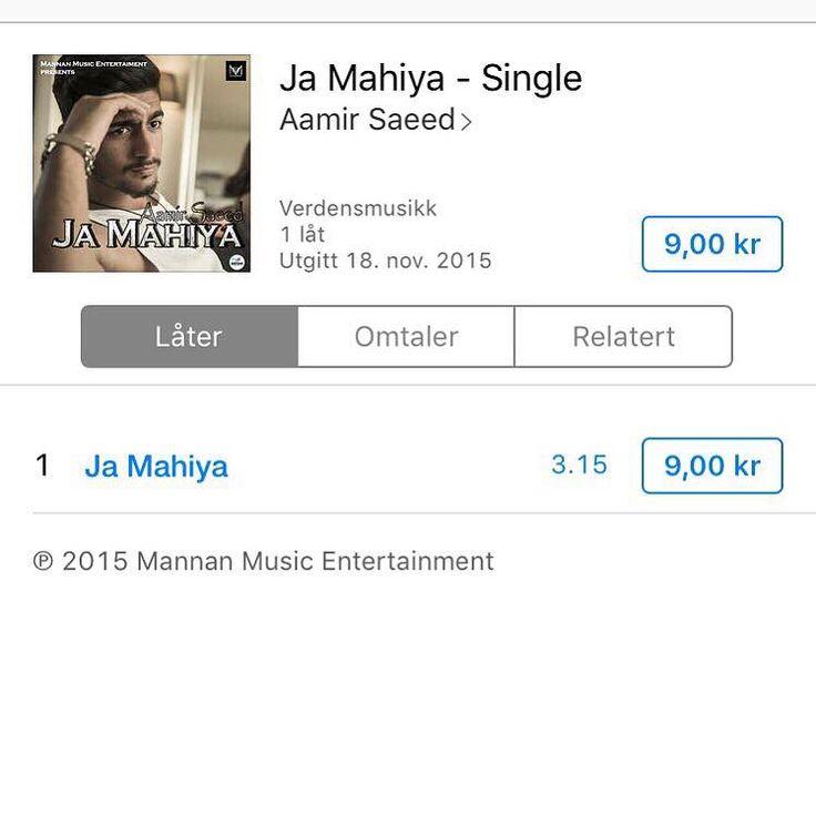 Ja mahiya available now on itunes. Go buy your legal copy