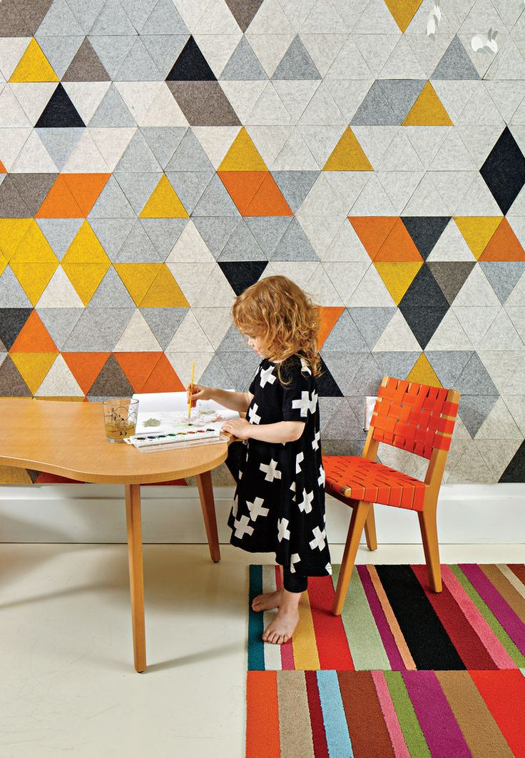 11 best Painted Geometric Wall Designs images on Pinterest