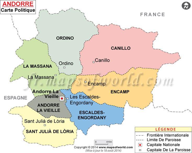 #Andorre Carte