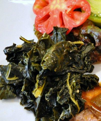 Braised Lacinato Kale