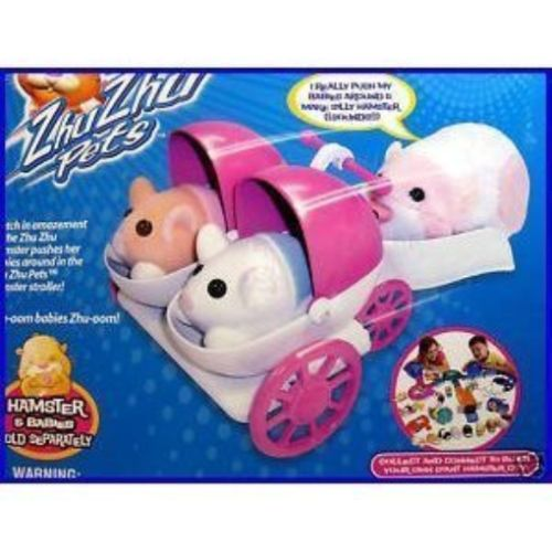 Zhu Zhu Pets 171529: Zhu Zhu Pet Hamsters - Baby Hamster Stroller By Zhu Zhu By Zhu Zhu Pets -> BUY IT NOW ONLY: $79.15 on eBay!