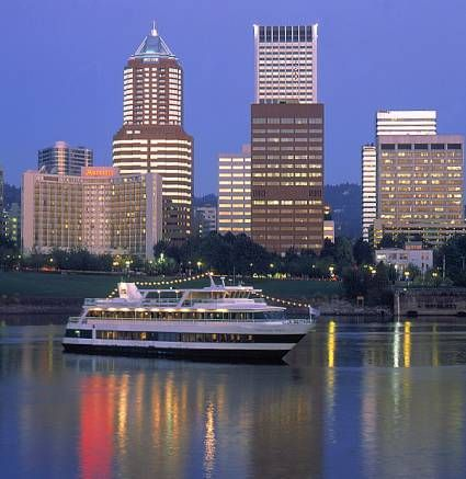 Enjoy the River city by boat. The Portland Spirit offers cruises down the Willamette River, complete with entertainment and a catered meal. Choose a lunch cruise, a dinner cruise, or a brunch cruise or simply take a sightseeing tour and enjoy beautiful city views.