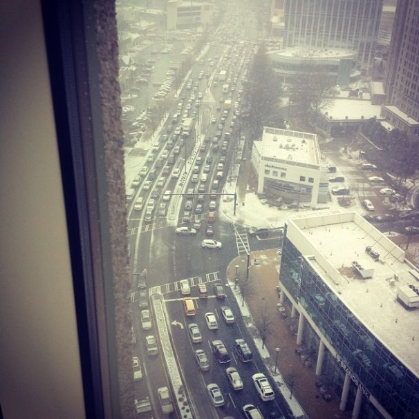 UPDATED: Unbelievable Photos Of What 2 Inches Of Snow Is Doing To Atlanta Right Now | Thought Catalog