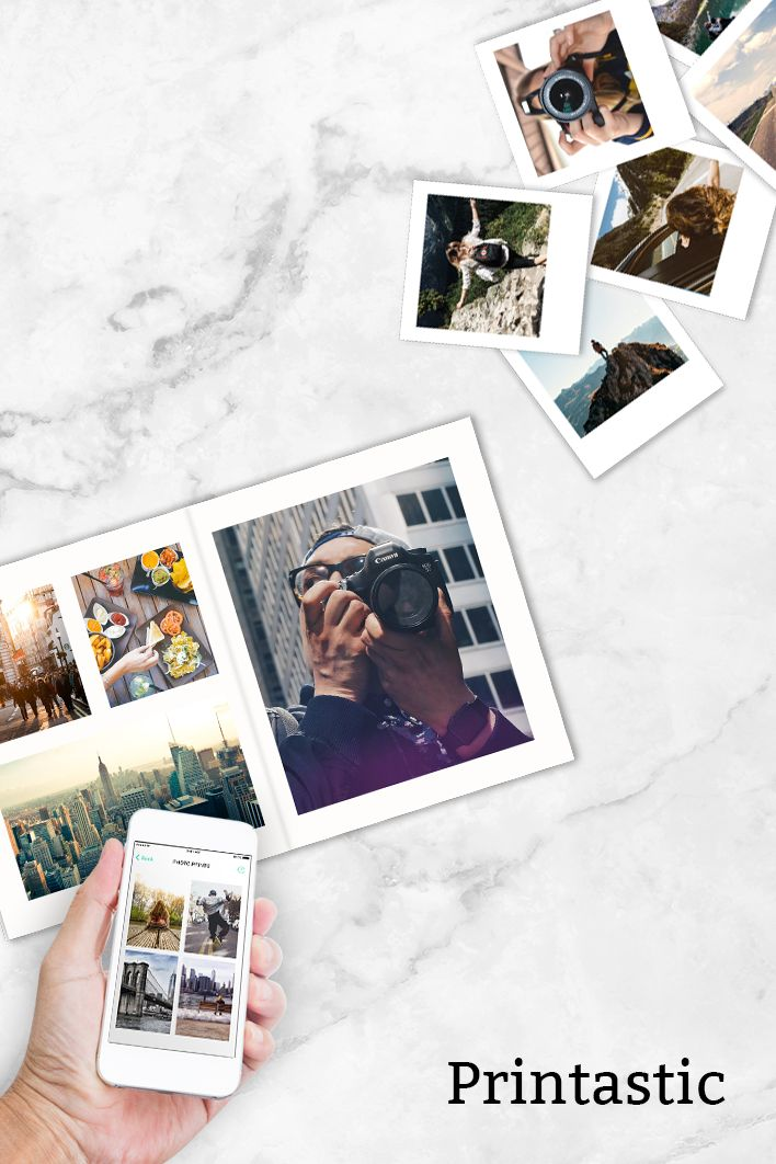 Print your memories straight from your phone onto high quality photo products.