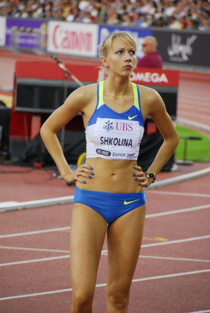 russsia female athletic nude