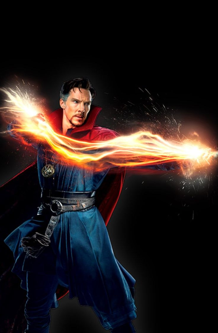 Doctor Strange. My husband is a lot like him.