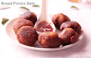 Bread Potato Balls | Baby Potato Balls | Cutlet Balls | Foodie ...