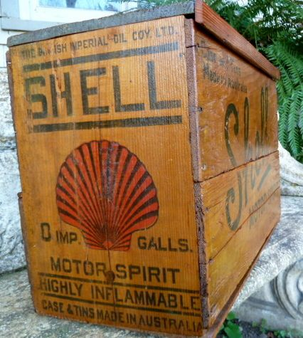 motor oil vintage wood box    http://business-directory.drewrynewsnetwork.com/ethanol-gas-oil/