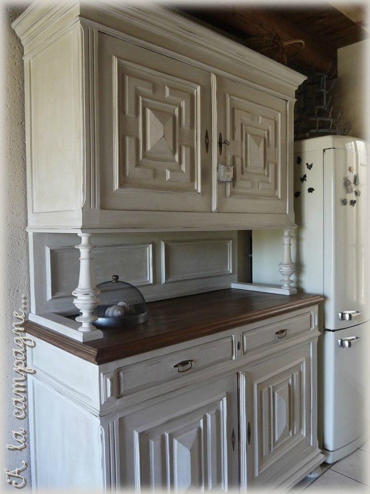 les 25 meilleures id es de la cat gorie vieux vaisseliers sur pinterest vieille commode. Black Bedroom Furniture Sets. Home Design Ideas