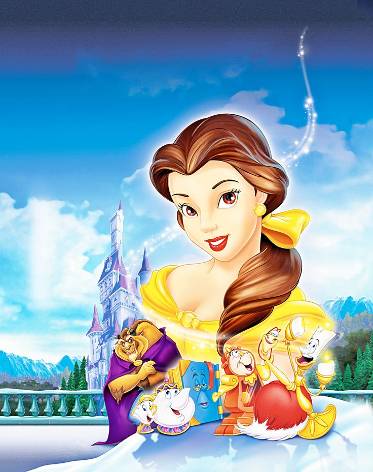Walt Disney Posters Beauty And The Beast Belle S Magical World Walt Disney Characters