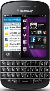 Coming after the BlackBerry Z10 is the Q10. BlackBerry developed its reputation with phones that offer physical keypads, & the Q10 is going to continuing that trend. It will flaunt a 3.1inch touchscreen fixed above a tiny set of buttons developed to be utilized with the thumbs.