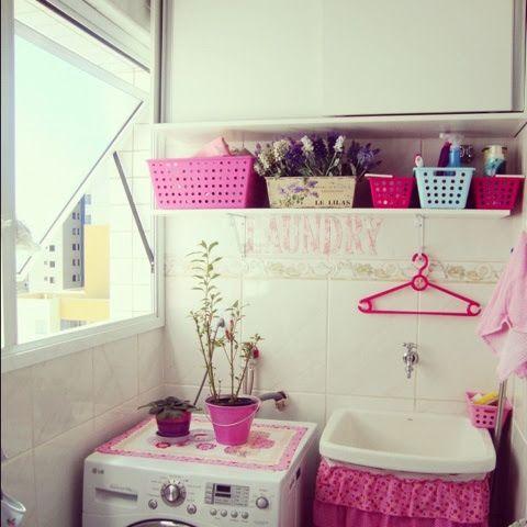 Escrevendo Assim: Mais áreas de serviço e lavanderias pequenas