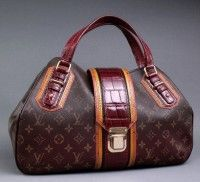 Louis Vuitton Monogram Mirage Griet Exotic Bag #LouisVuitton #handbags