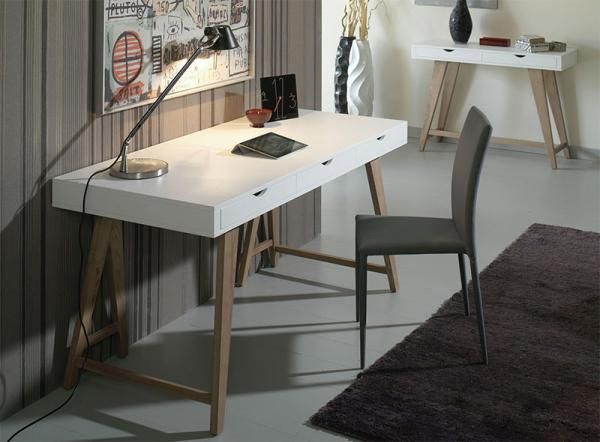 11 Best Images About For Home Office On Pinterest Glass Furniture Cable And Modern Desk