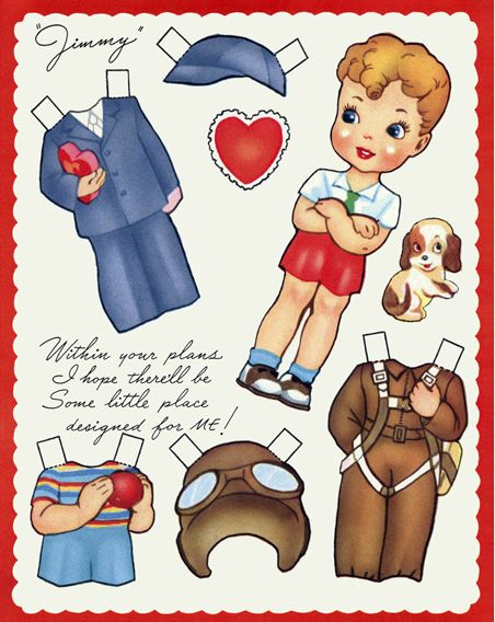 dolls  discount printable authentic collection paper free Ultimate vintage looking of these dolls including Valentines paper shoes