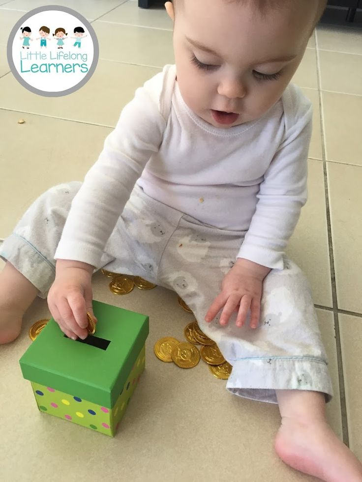 We have been working hard to improve our learning space at home and I've been loving all things Montessori. We have sorted through all of the toys and made tubs for one-use and open-ended toys and rotate her shelves as needed. Recently, I went to see the I am Montessori learning space and fell in love. We saw so many great ideas and I was so impressed to see how engaged my 14 month old was in the space. She loved the coin box so we decided to make our own DIY version! We got a little…