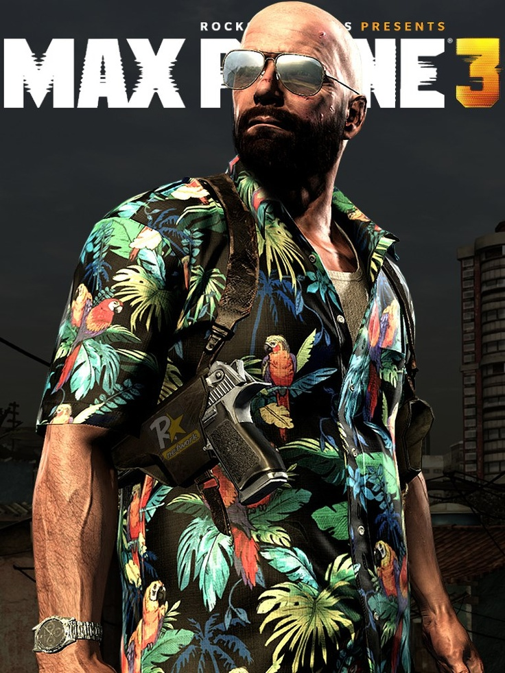 Max Payne 3 iPad Wallpaper by Rockstar Network