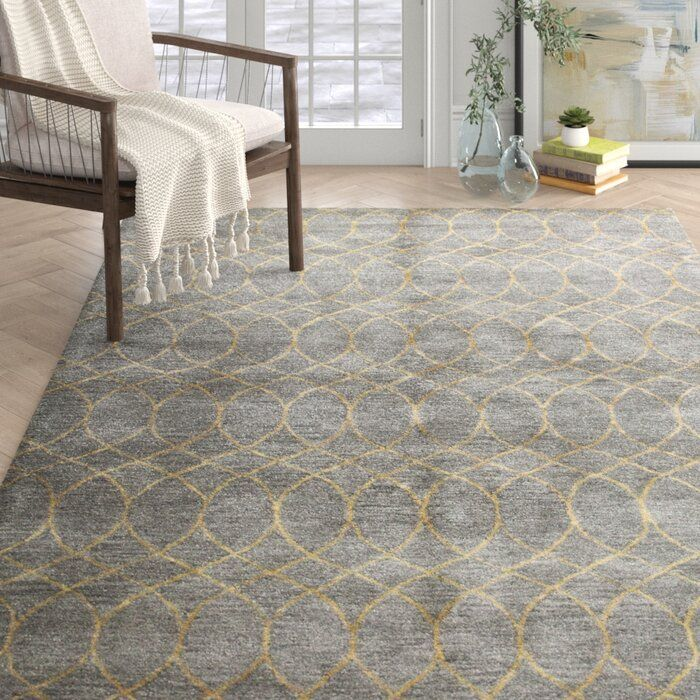 Jared Handmade Tufted Wool Grey Rug Grey Area Rug Area Rugs Rugs