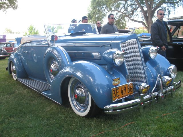 Packard. The is just outright beautiful. I would love to own it.