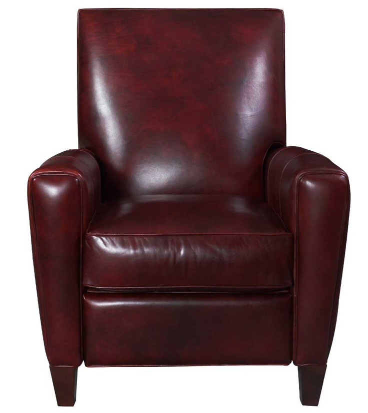 Leather recliner from Laura Ashley.