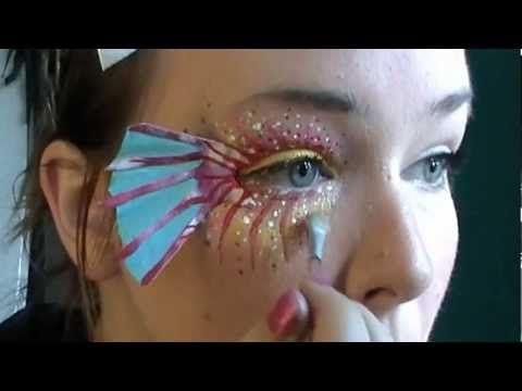Fish Makeup Tutorial - Eye Art