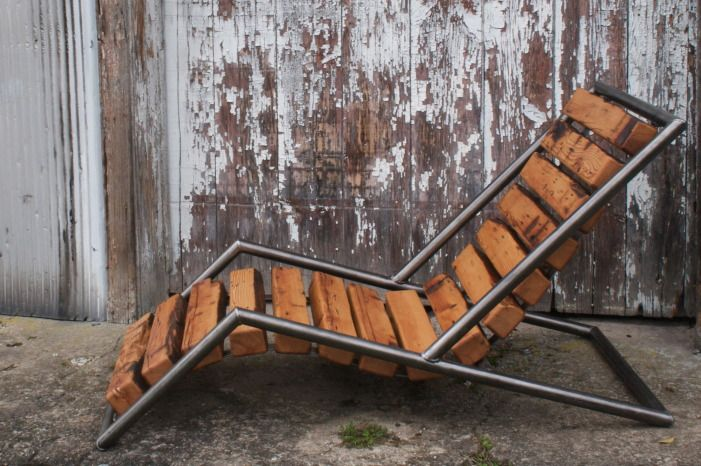 Farm chicks, meets Frank Lloyd Write. UniteTwoDesign makes some awe inspiring furniture that doubles as sculpture!