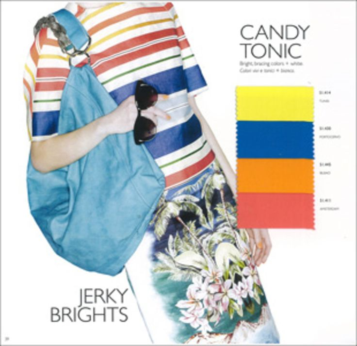 S/S 2014 Colour Trends - Candy Tonic