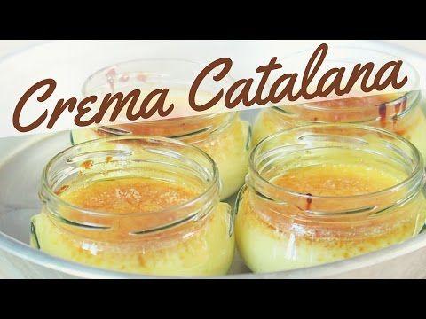Crema Catalana ricetta facile - How to Make Catalan Cream - YouTube