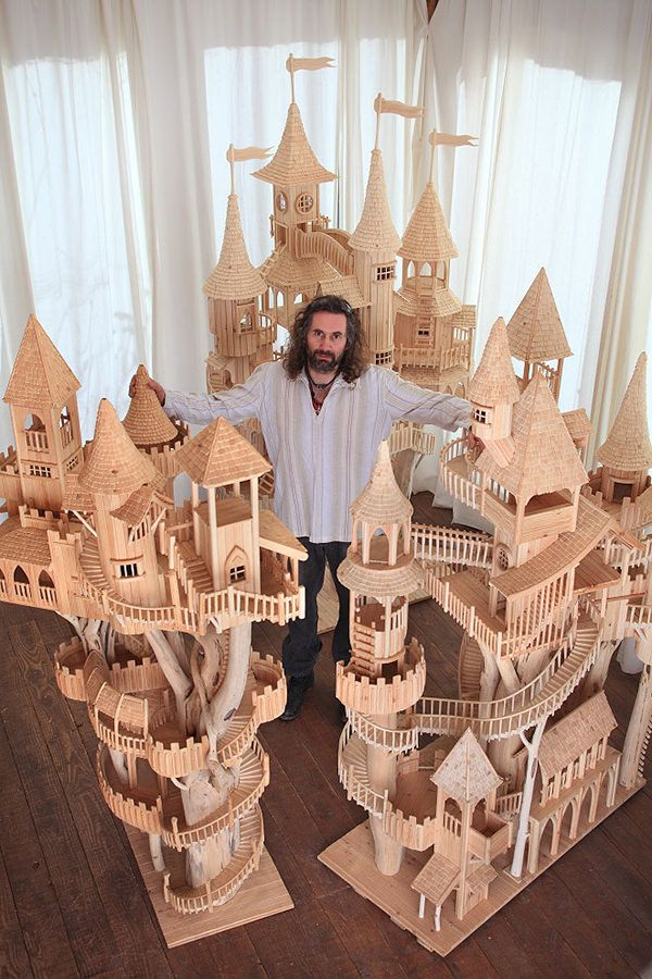 For The Love Of Wood: 55 Amazing Wooden Sculptures [Photos]