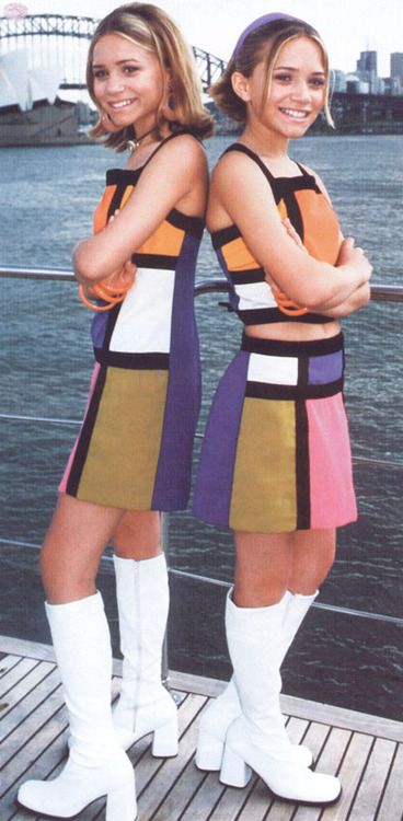 Our Lips Are Sealed - when I was 11, I thought these outfits were the coolest