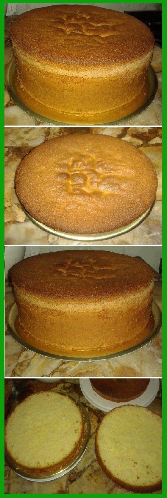Realiza un Bizcochuelo casero 28 de diámetro y 10 cm de alto...   #bizcochuelo #bizcocho #torta #tartas #casero #receta #recipe #comohacer   #pastel #nestlecocina  #tasty #cocina #chocolate #pan #panes   Si te gusta dinos HOLA y dale a Me Gusta MIREN …