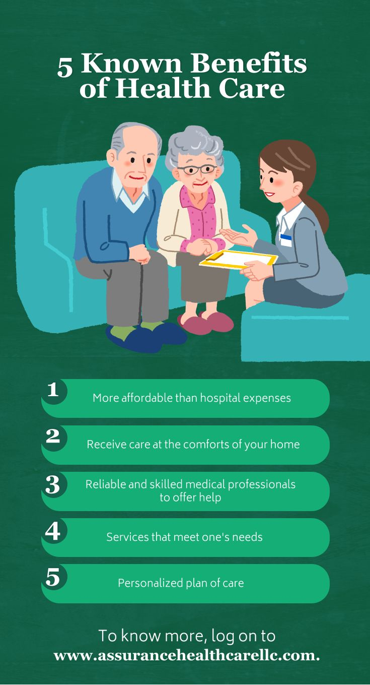 5 Known Benefits of Health Care #healthcare
