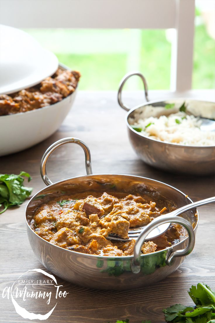 Slow cooked, one-pot, melt-in-the-mouth lamb korma. Can be made paleo by subbing in coconut milk and honey