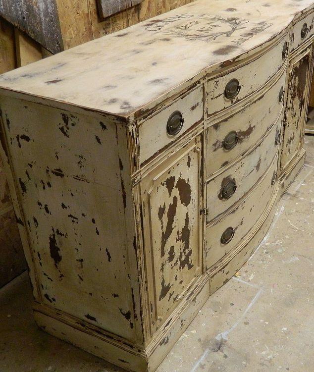 l'aggiunta di una grafica di mobili, mobili dipinti, mobili rustici