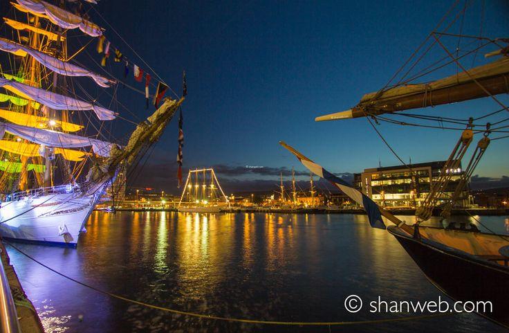 Tall Ships, Belfast, Northern Ireland.