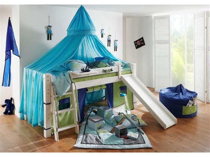 betthimmel baldachin f r hochbett dolphin multicolor. Black Bedroom Furniture Sets. Home Design Ideas
