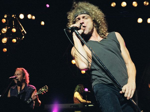 Mick Jones, Jeff Jacobs & Lou Gramm