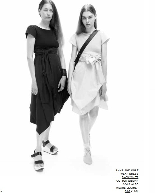 Ioanna Kourbela- The Basics Collection Snow White dress @ http://www.drapeny.com/IKO_BASICS.html