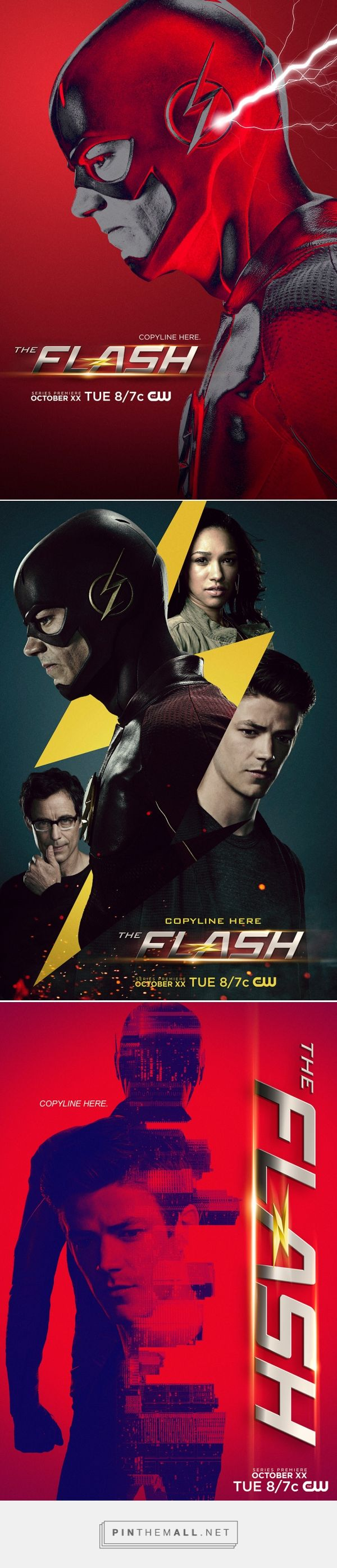 The Flash Season 2 fan posters