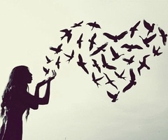 Heart of mine. Go on and fly..