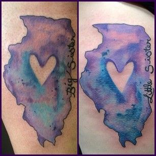 Illinois | 50 Awesome State Tattoos That Will Fill You With Hometown Pride