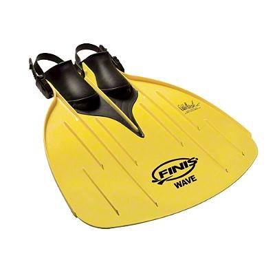 """Finis® Monoflosse """"The Wave""""    Kindermonoflosse,  Für Kinder ab 6 Jahren  Das flexible Flossenband aus Kunststoff ermöglicht schnelles und erlebnisreiches Schwimmen wie ein Delfin!  Schnelle und einfache Handhabung durch verstellbares Fersenband  Passend für Schuhgrößen von ca. 32-39"""