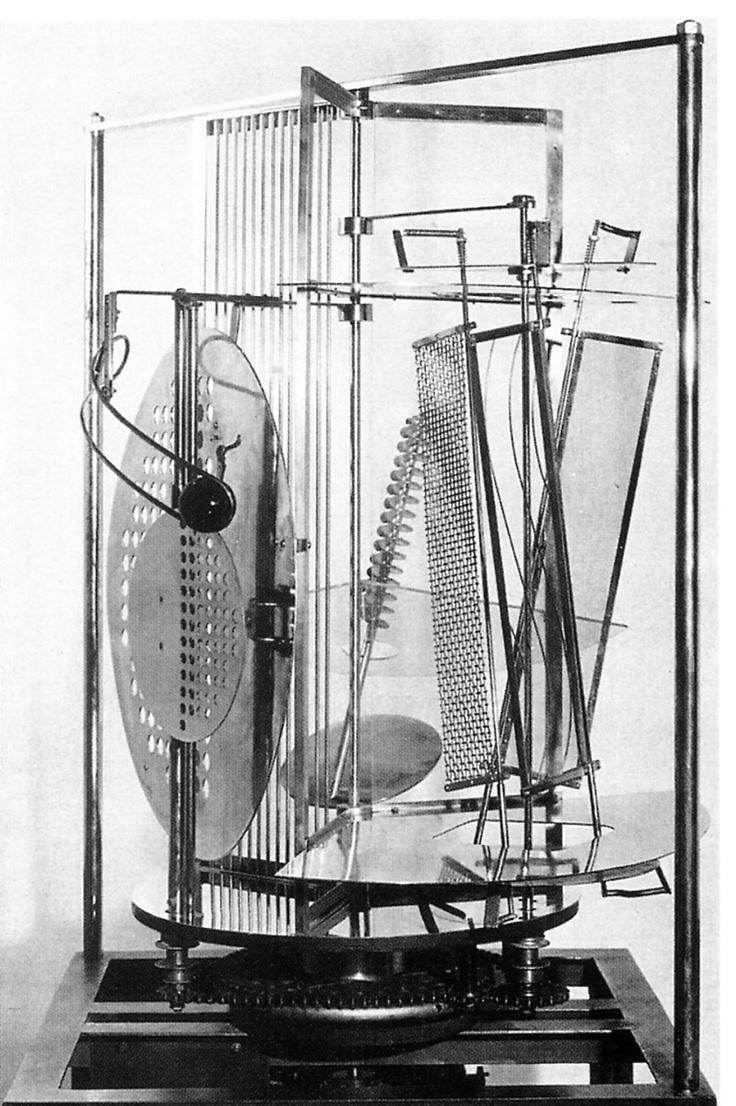 Laszlo Moholy-Nagy . Licht-Raum-Modulator, 1930