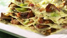 Dieses Rezept von MAGGI für Waldpilz-Lasagne lässt Herzen höher schlagen! Für alle Pilzliebhaber und diejenigen, die es werden wollen.