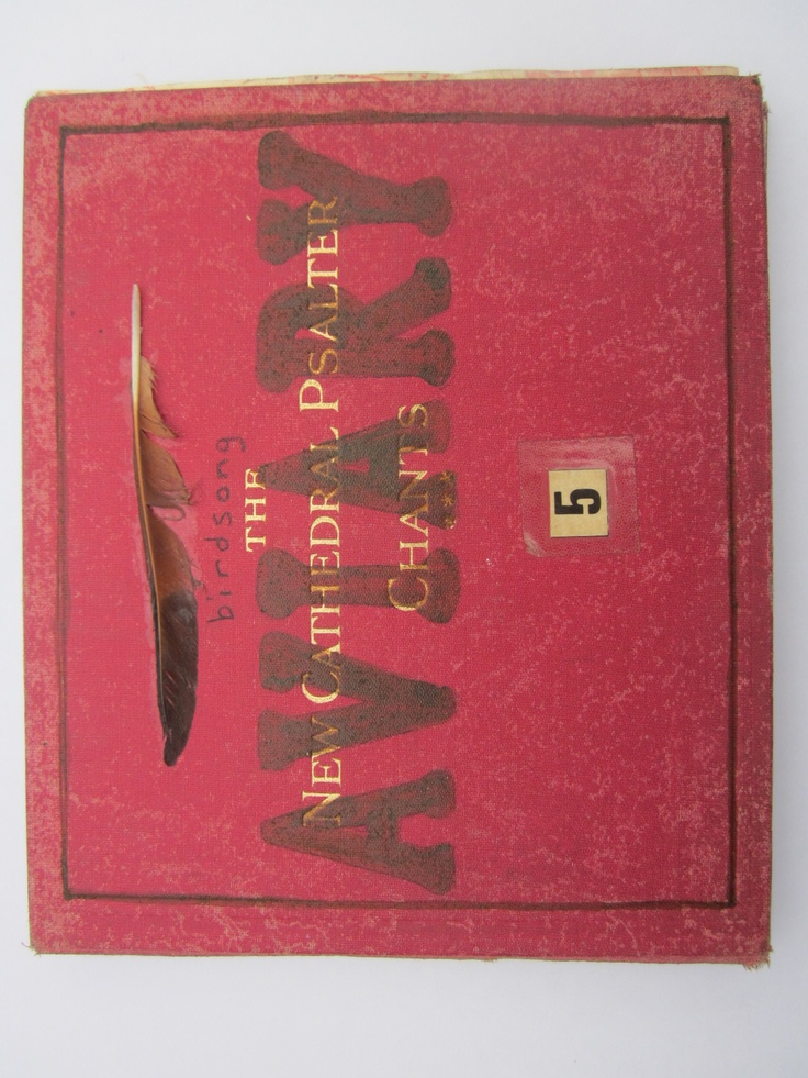 Cover of book Birdsong Aviary, an altered Evensong book