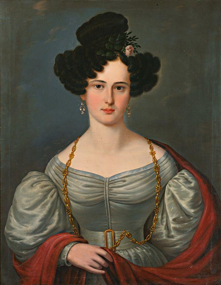 Friedrich von Amerling ( possibilidade) Portrait of unknown Lady