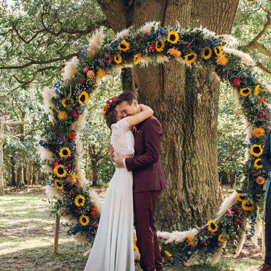 BRIGHT CAMP FESTIVAL WEDDING | Festival wedding, Asian wedding ...