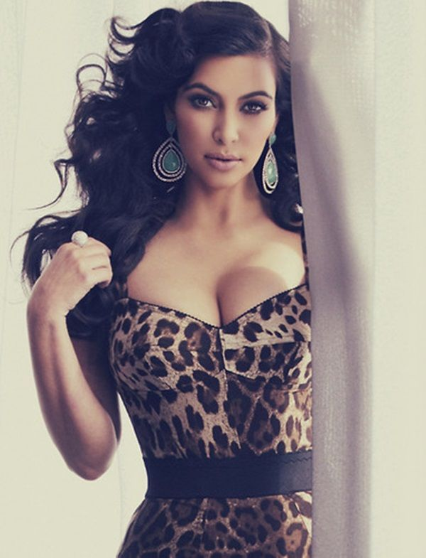 KIM KARDASHIAN #Cheetah #Dress